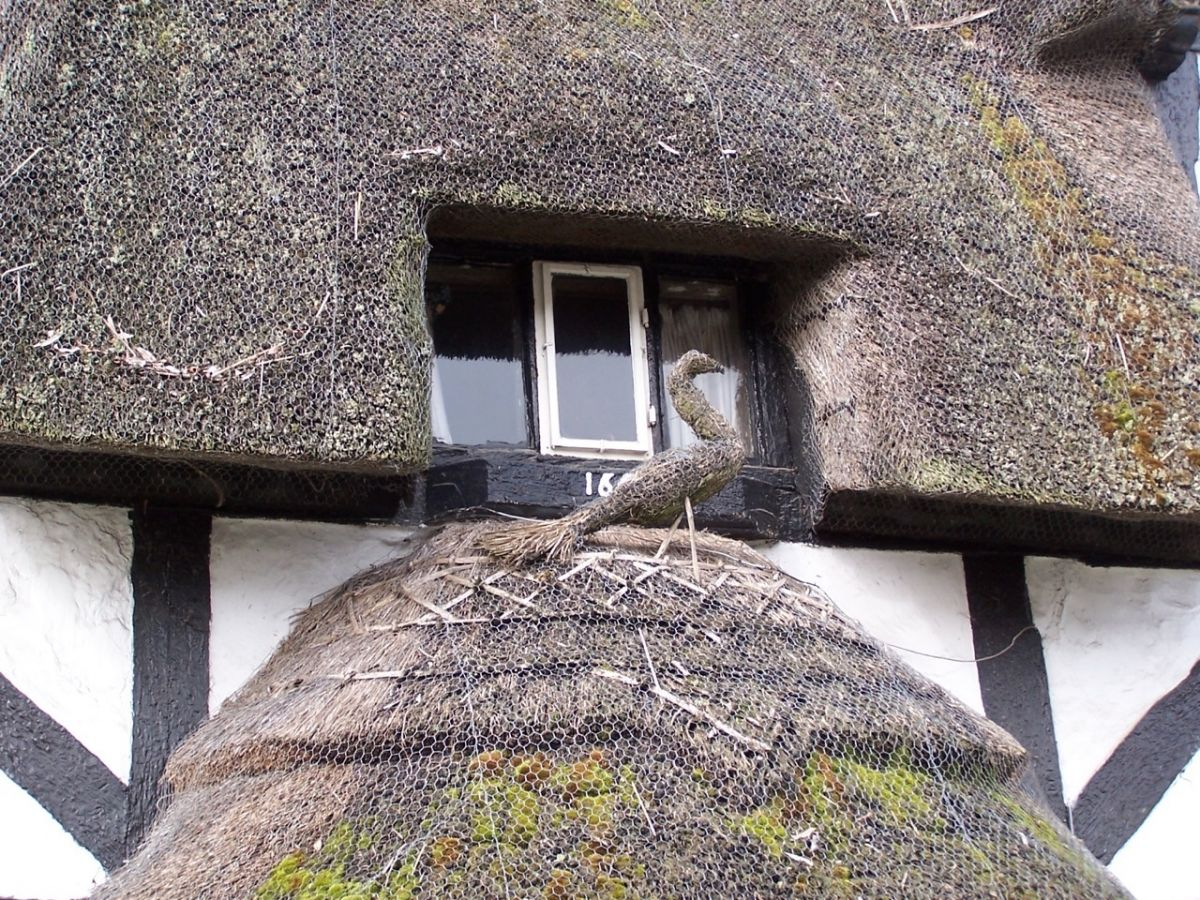 Thatch decoration